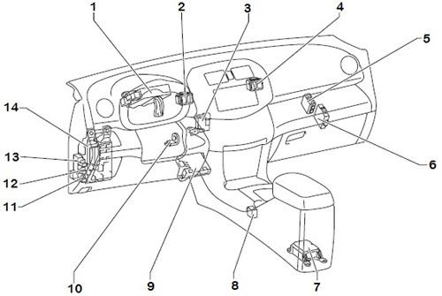 2002 f250 4x4 fuse diagram labeled toyota rav4 2000 2001    2002    2003 engine computer repair  62  toyota rav4 2000 2001    2002    2003 engine computer repair  62