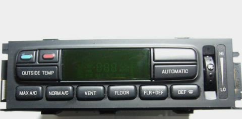 FORD,Cars or Trucks & Mercury,AC-Heater Climate Control Panel